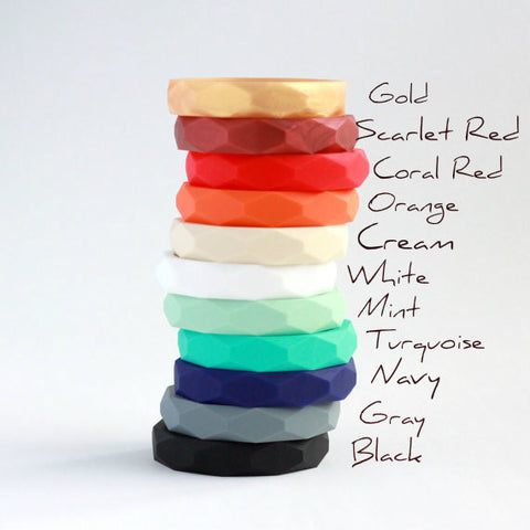 Silicone Bangles by Minted Lane