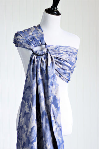 Bibetts 'Camo Blue' Ring Sling