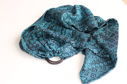 Bibetts Doll Ring Sling 'Enigma Blue'