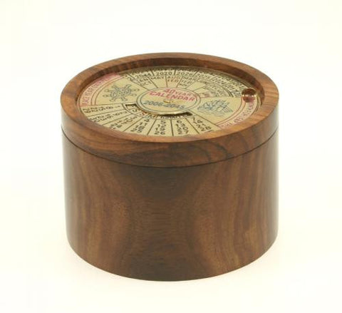 In Your World Fair Trade Wooden Calendar Box