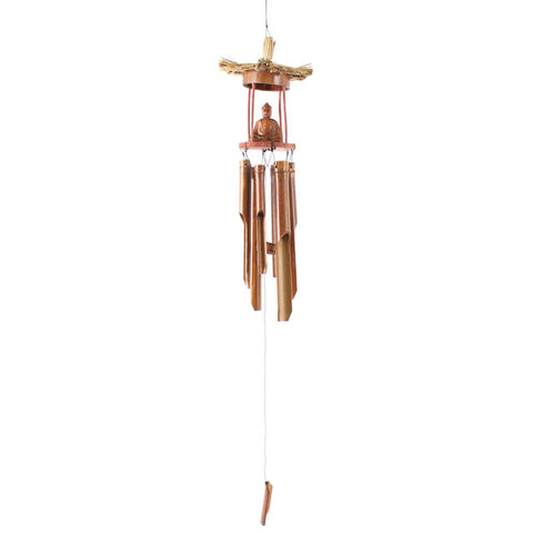 Bamboo Buddha Chimes Fair Trade from Indonesia