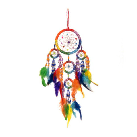 Beaded Rainbow Dreamcatcher Fair Trade Gift Idea