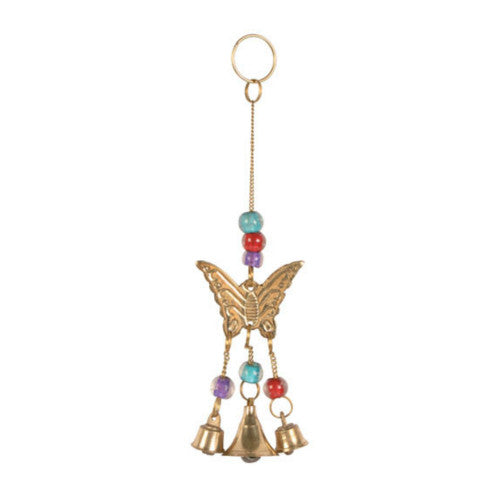 Brass Butterfly Mini Chime Gifts and Home Accessories