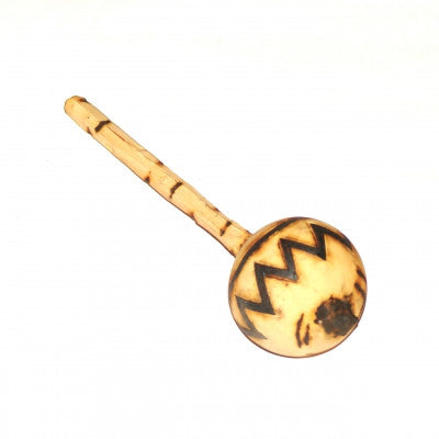 Burnt Wood Maracas Zimbabwe Fair Trade Musical Instruments