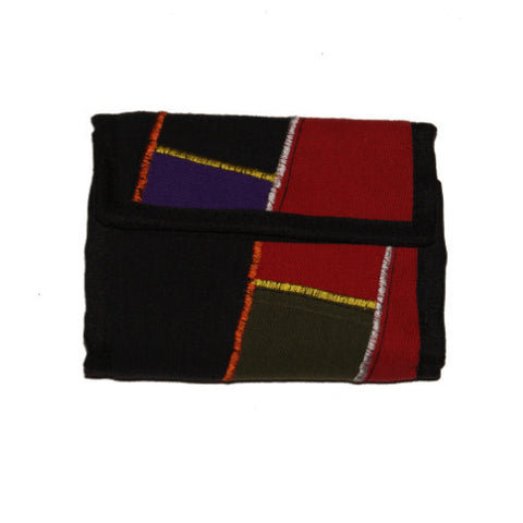 Colour Block Wallet Fair Trade from Nepal