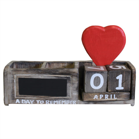 A Day to Remember Natural Heart Pen Holder Gift Idea