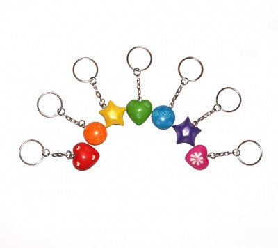 Soapstone Colourful Keyrings from Kiisi Kenya Fair Trade Accessories