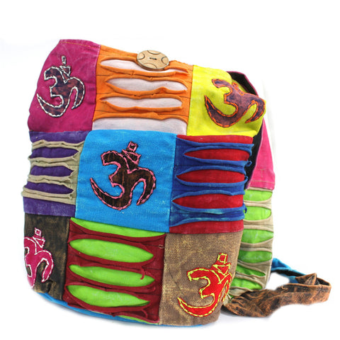 Ethnic Style Om Symbol Bag Ethically produced in India