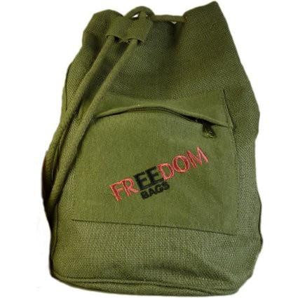 Green Freedom Backpacks Handmade in India Ethical Fashion