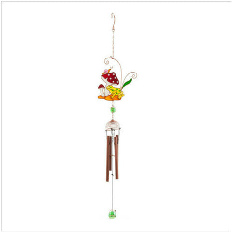 Frog and Toadstool Windchime Home & Gift Ideas