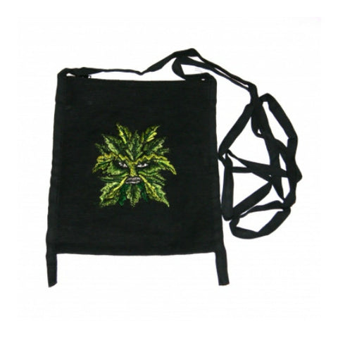 Green Man Passport Bag Fair Trade from Nepal