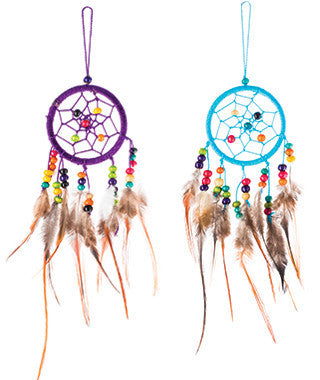 Mini Dreamcatcher with Beads - In Your World Dreamcatchers