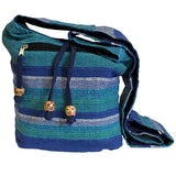 Nepal Sling Bag Blue Rivers Ethical Fashion