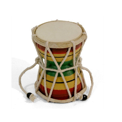 Damru Hand Drum Fair Trade from India Music and Fun