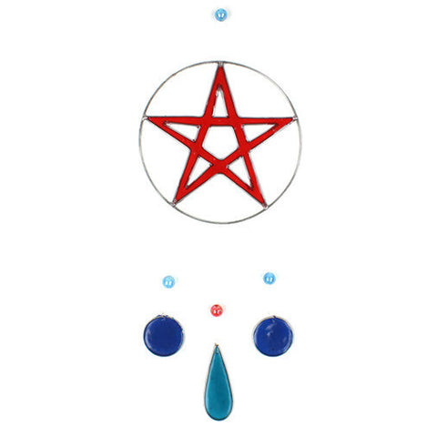 Pentacle Suncatcher - Fair Trade - In Your World