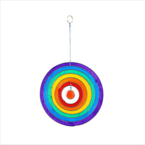Rainbow Circle Suncatcher Fair Trade Home and Gift