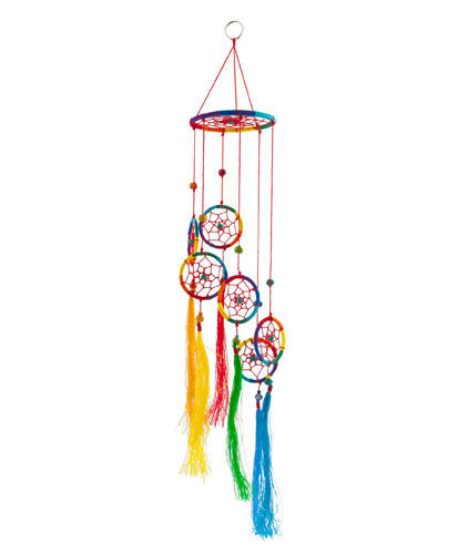 Rainbow Dreamcatcher Mobile - In Your World Dreamcatchers