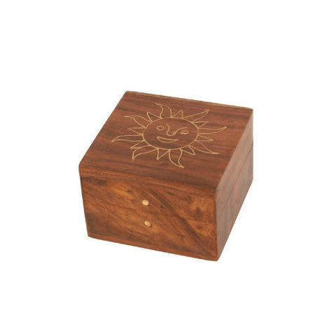 Sheesham Wood Sun Box Fair Trade from India
