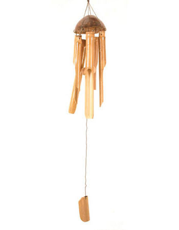 Simple Bamboo Wind chimes - Fair Trade from Indonesia