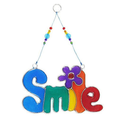 Smile Suncatcher Rainbow Colours Home & Gift Ideas