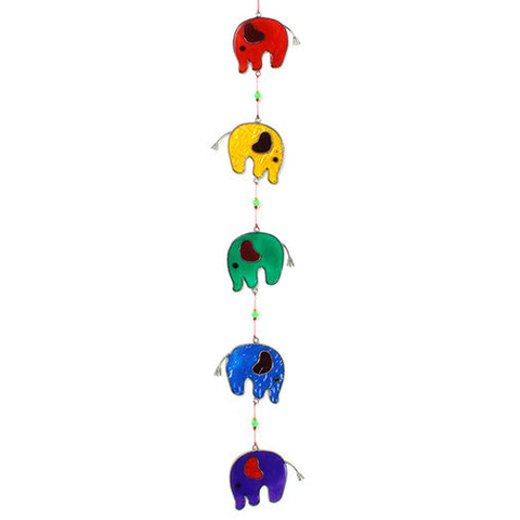 Five Elephants Suncatcher - In Your World Fair Trade