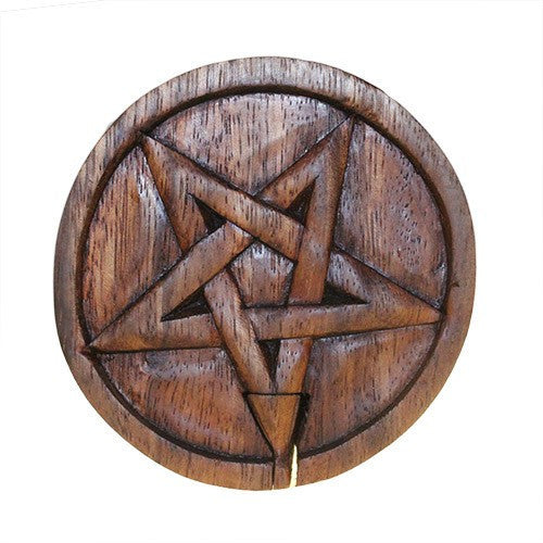 Pentacle Puzzle Wooden Box from Indonesia
