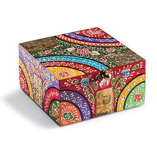 Indian Painted Box Fair Trade Home & Gift