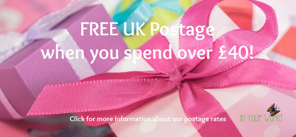 In Your World Postage Rates
