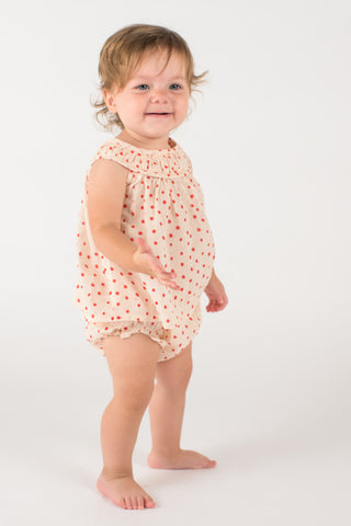 Baby Dress with Ruffled Bloomers