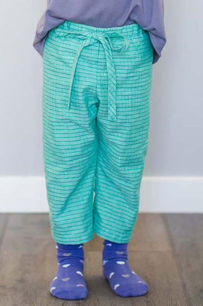 Riley Straight-Leg Pant (Seafoam)