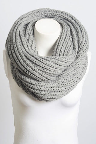 Cloud Nine Chunky Infinity Scarf