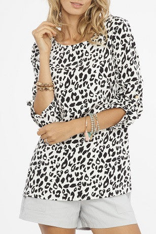 Snow Leopard Top