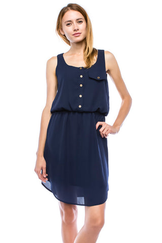 Deep Blue Sea Dress
