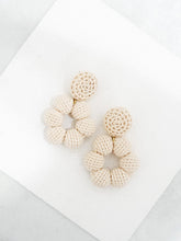 Load image into Gallery viewer, Bria crochet bonbon earrings