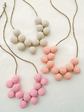 Load image into Gallery viewer, Sunburst Crochet Bead Necklace