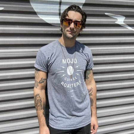 Grey Mojo Coffee Roasters T-shirt (Unisex)