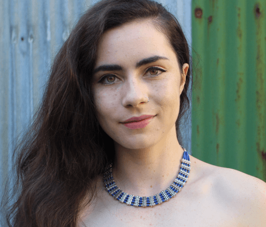 [Lapis necklace gypsy bohemian style jewelry or jewellery]- The Namaste Boutique