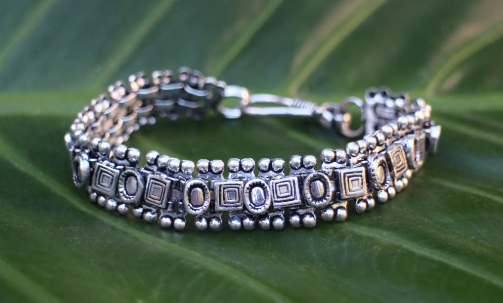 [Bohemian metal bracelet gypsy bohemian style jewelry or jewellery]- The Namaste Boutique