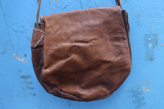 [Leather messenger bag gypsy bohemian style handbag or bag]- The Namaste Boutique