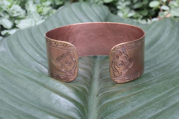 [Copper adjustable cuff gypsy bohemian style jewelry or jewellery]- The Namaste Boutique
