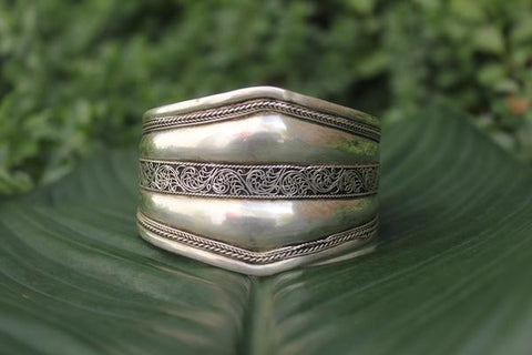 [Metal bohemian adjustable cuff gypsy bohemian style jewelry or jewellery]- The Namaste Boutique