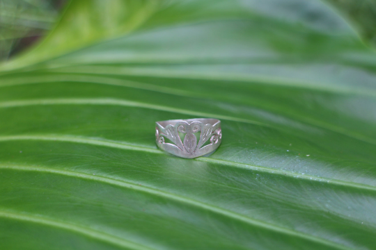 [Sterling silver butterfly ring, bohemian, gypsy boho hippie jewelry]- The Namaste Boutique