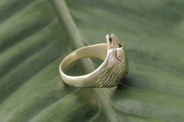 [Sterling silver eagle ring, bohemian, gypsy boho hippie jewelry]- The Namaste Boutique