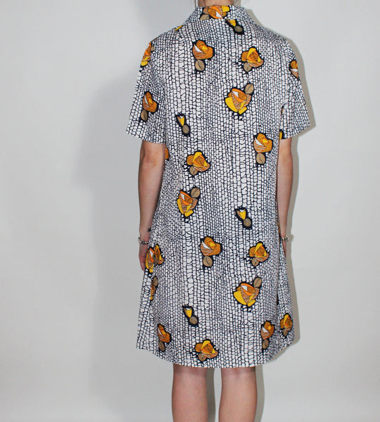 Goldfish Flowers Dress