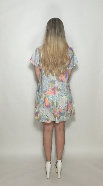 Custom Vintage Princess Line Dress w Pockets