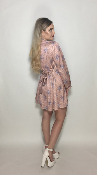 Pink Chain Link Dress