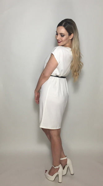 White Shift Dress