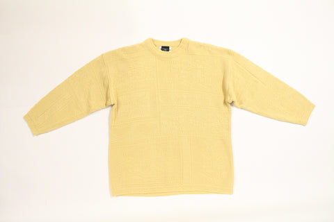 90's Custard Sweater