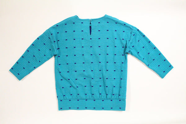Turquoise 80's Sweater
