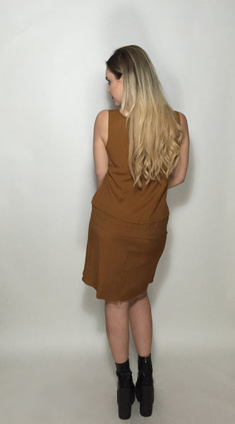 Bronze Ambition Dress